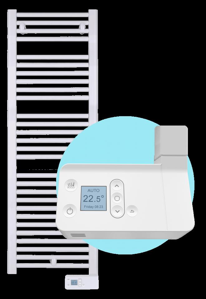 Toalheiro Térmico Digital - O único que aquece a toalha e o banheiro!